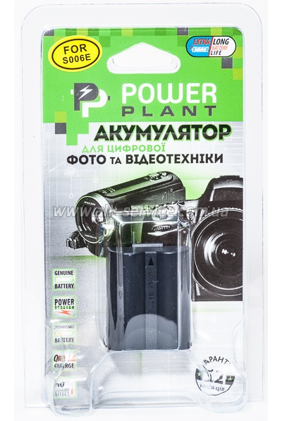 Аккумулятор PowerPlant Panasonic S006E (DV00DV1100)