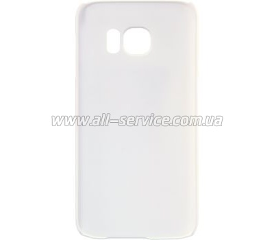 Чехол NILLKIN Samsung G930/ S7 Flat Super Frosted Shield White