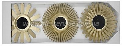 Зеркало EVG BIN 1124080 GOLD set 3