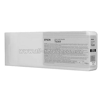 Картридж Epson StPro 7900/ 9900 light light black, 700 мл (C13T636900)
