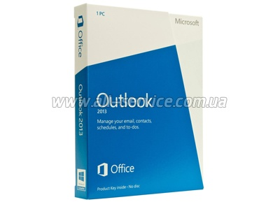 ПО Microsoft Outlook 2010 32-bit/ x64 Russian DVD (543-05128)