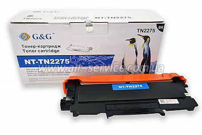 Картридж G&G для Brother HL-2240/ 2250/ DCP-7060/ MFC-7860 (G&G-TN2275)