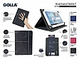 "Чехол универсальный 7"" Golla Tablet  folder Stand G1556 Brad Dark grey"