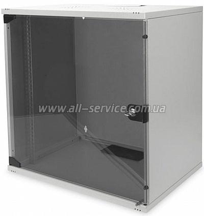 19 Шкаф DIGITUS 12U 540x400, серый (DN-1912-U-S-1)