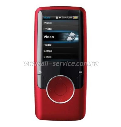 MP3 плеер ERGO Zen modern 8GB Red (MP620-8GB)