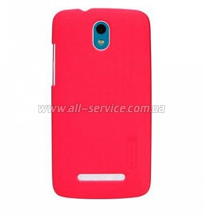 Чехол NILLKIN HTC Desire 501 - Super Frosted Shield (Red)