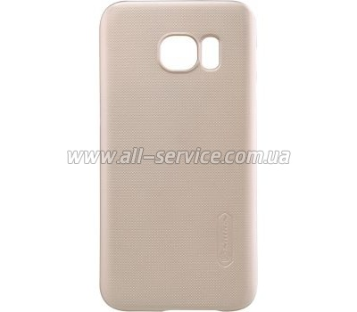 Чехол NILLKIN Samsung G930/ S7 Flat Super Frosted Shield Gold