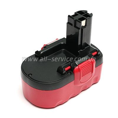 Аккумулятор PowerPlant для BOSH GD-BOS-18A 18V 1.5Ah NICD (DV00PT0032)