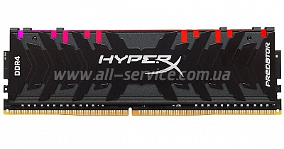 Память 8Gb DDR4 4000MH z KINGSTON HyperX Predator RGB (HX440C19PB3A/8)