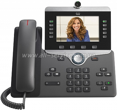 IP-телефон Cisco IP Phone 8865 (CP-8865-K9=)