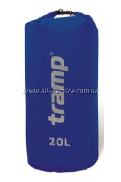 Гермомешок Tramp PVC 20 л Синий (TRA-067.6)