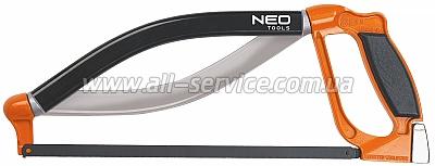 Ножовка по металлу NEO, 300 мм, 3D (43-300)