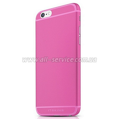 Чехол ITSKINS ZERO 360 for iPhone 6 Plus Pink (AP65-ZR360-PINK)