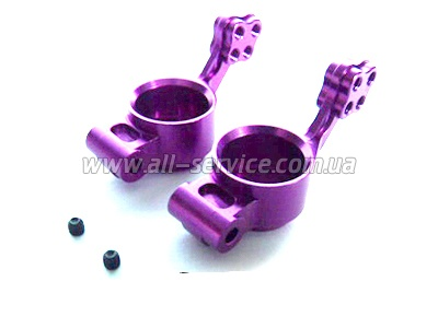 (02130) Purple Alum Rear Hub Carrier 1SET