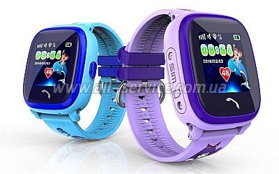 Смарт часы GOGPS ME K25 Пурпурные (K25PR) - Цена 080e937ff463a