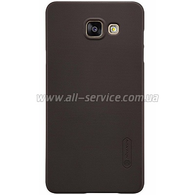 Чехол NILLKIN Samsung A5/A510 - Super Frosted Shield Golden (6274118)